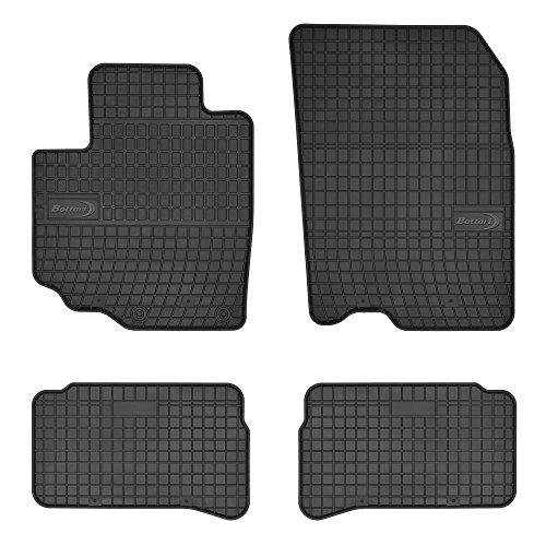 Bottari 39699 Set de 4 tapis de sol sur mesure en caoutchouc pour Suzuki Vitara 2014 - ....