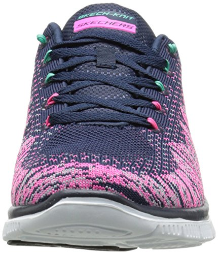Skechers  Flex Appeal Talent Flair,  Scarpe sportive indoor donna Multicolore (Multicolore (Nvmt))