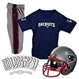 Franklin Sports Conjunto NFL Deluxe Uniforme Jóvenes. - 15700F24, S, New England Patriots