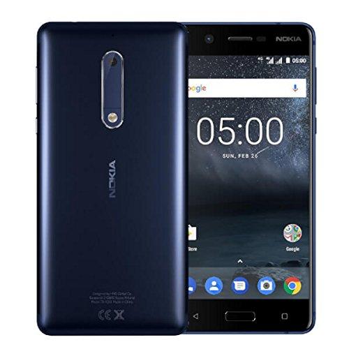 Nokia 5 Smartphone da 16 GB, Blu TIM