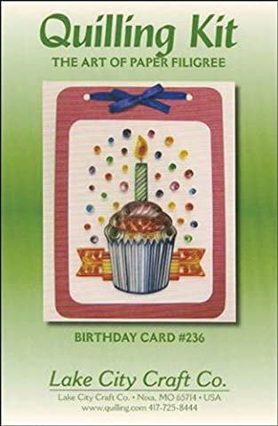 Quilling Kit-Birthday Cupcake