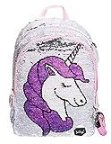 Baagl Einhorn Rucksack für Mädchen - Schulrucksack Mädchen Teenager mit Unicorn - Schultasche für Kinder Jugendliche (Einhorn)