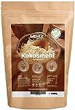 Kokosmehl 1kg - Low Carb - Glutenfrei, Vegan Wehle Sports Premium Kokos-mehl 1000g entölt, fein gemahlen