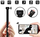 Hidden Camera DIY Module Mini Camera/Security Camera with WiFi Remote View/Motion Detection for Home/Office (Support iOS/Android/PC)