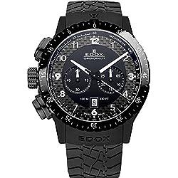 EDOX EDOX RALLY INSTRUMENTS CHRONORALLY 1 10305 37N NN - Reloj unisex, correa de goma color negro