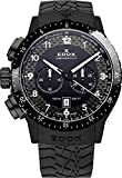 EDOX Unisex-Armbanduhr EDOX RALLY INSTRUMENTS CHRONORALLY 1 Chronograph Quarz Kautschuk