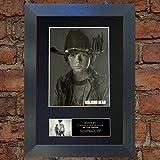 The Walking Dead Carl Grimes autografata di qualità superiore con stampa foto, riproduzione molto raro A4(297x 210mm) # 634