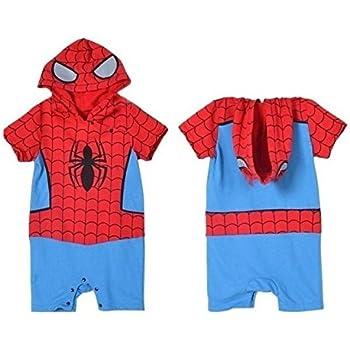 40de20405 BABY BOY GIRL SUPERMAN BATMAN SUPERGIRL SPIDERMAN BATGIRL BABY GROW ...