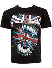 Official Asking Alexandria Flag Eater T Shirt (Black)