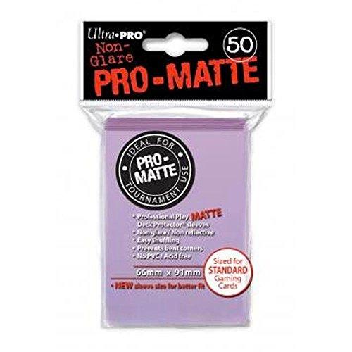 Ultra Pro 84504 - Deck-Schutz Standard Sleeves, Pro-Matte - Non Glare, Lilac