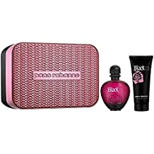 Paco rabanne black xs for her estuche 80 ml vaporizador + body lotion 100 ml