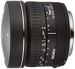 Sigma Objectif Fisheye 8 mm F3,5 EX DG Circular - Monture Canon