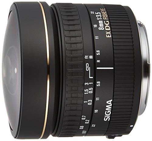 Sigma 8Mm F3.5 Ex Dg Att.Canon