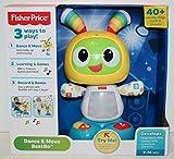Fisher-Price Bebo le Robot interactif jouet d'éveil avec 3 modes de jeu, version anglaise, pour...