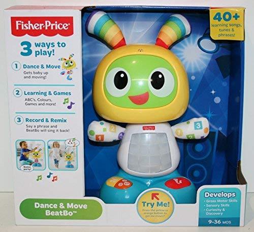 Fisher-Price - Lernspielen - Bright Beats - Dance & Move BeatBo - Interaktives Spielzeug (Englische Sprache)