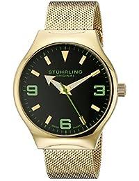 Stührling Original 184.333371 - Reloj con movimiento cuarzo suizo Man Eagle Elite
