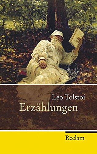 Buchseite und Rezensionen zu 'Erzählungen (Reclam Taschenbuch)' von Leo Tolstoi