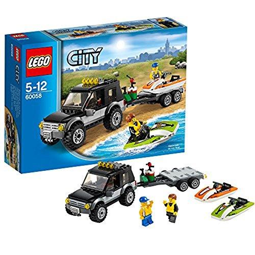 LEGO City - Furgoneta con lancha 60058