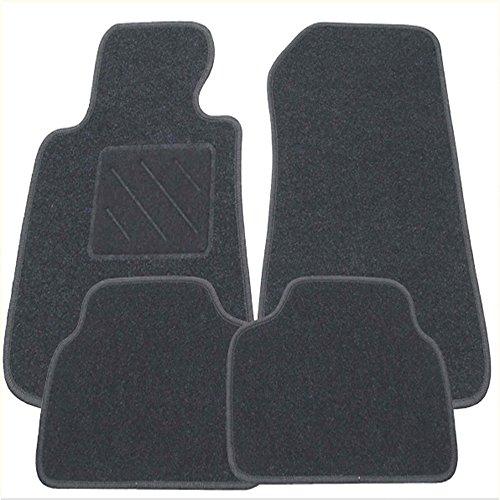 Fussmatten-Deluxe 11-11-109596 Fussmatten Autoteppiche Passgenau mit Absatzschoner XXL graphit für das in der Beschreibung genannte Fahrzeug