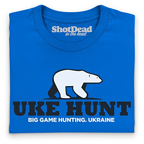 General Tee Uke Hunt T-Shirt, Herren Royalblau