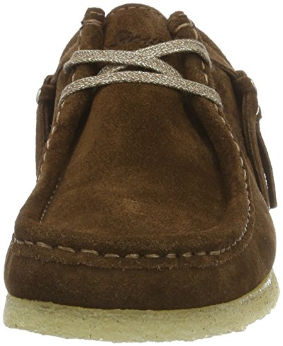 Sioux Grash.-d161-03, Mocassins (loafers) femme Marron (bois)