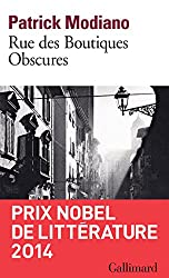 Rue des Boutiques Obscures (Folio) (French Edition)