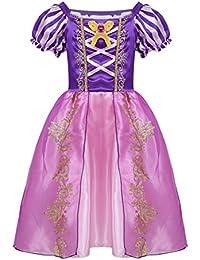 Freebily Vestido de Princesa Blancanieves Tales Disfraces para Halloween Cosplay Costume para Niñas