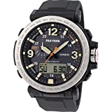Casio Herren MultiZifferblatt Quarz mit Resin Armbanduhr PRG6001ER