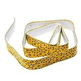 Baoblaze Rutschfest Griffband für Tennisschläger Squashschläger Badmintonschläger - Gelb
