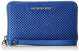 Michael Kors - Borsa Jet Set Travel Flat multifunzione da donna con cover per smartphone, porta carte e documenti, taglia unica immagine