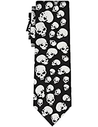 cravate skulls II, blk