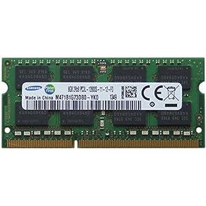 Samsung 8GB DDR3 SO-DIMM 8GB DDR3 1600MHz Memory Module - Memory Module (DDR3, Laptop, 204-Pin SO-DIMM, 512M x 8, 1 x 8GB, 0-85°C)