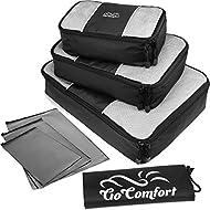 GoComfort - Portatrajes de viaje negro negro