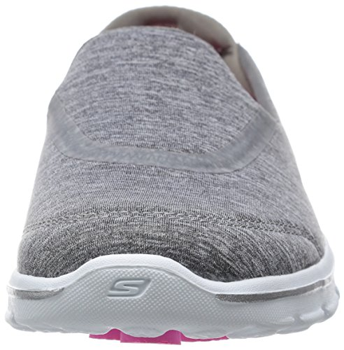 Skechers prestazioni Go camminata 3 Reboot Walking Slip-on del pattino Heathered Gray