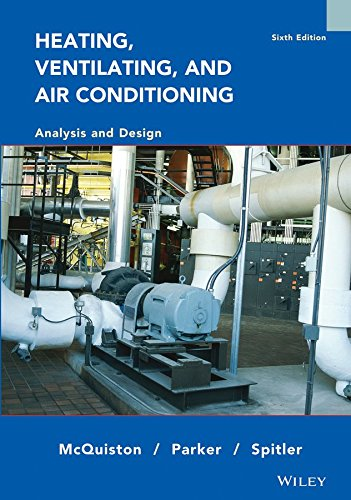 [Heating, Ventilating and Air Conditioning: Analysis and Design] (By: Faye C. McQuiston) [published: August, 2004]