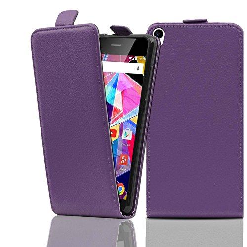 Ordica DE® Hülle Archos Diamond S Flip Case Lila KlapeHülle mit Magnetverschluss Tasche klapphülle ständer schutzhülle
