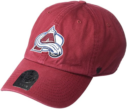 NHL '47reinigen bis Verstellbarer Hat, Unisex, Scharlachrot -