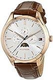 Tommy Hilfiger Herren-Armbanduhr Sport Luxury Analog Quarz Leder 1791306