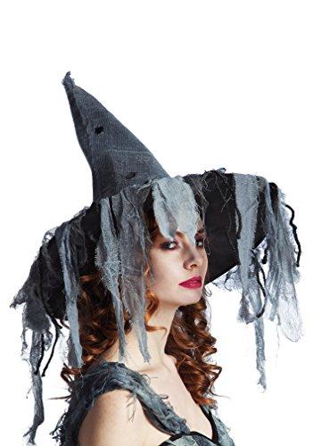 Staubigen Kostüm - Boland 96948 - Hexenhut Zombie für Erwachsene