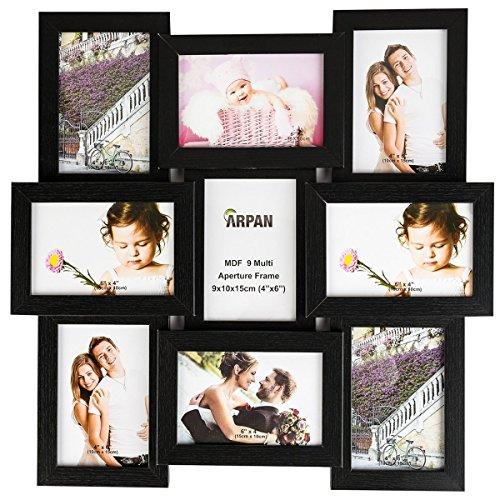 ARPAN Mehrfach-Bilderrahmen–nimmt 22,9x 15,2x 10,2cm - Mehrfach-bilderrahmen Horizontale