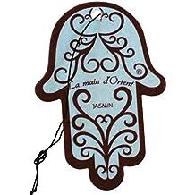 Ambientador Coche–Pastilla mano de Fátima jazmín Super Clean 946265