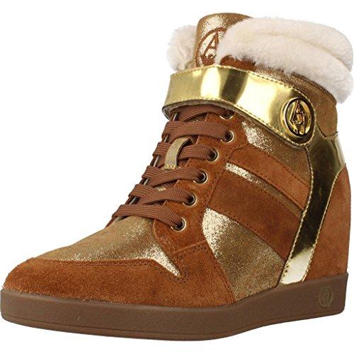 Emporio Armani Bottines - Boots, Couleur Marron, Marque Armani Jeans, Modã¨Le Bottines - Boots Armani Jeans 925022 Marron