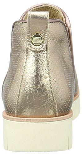 Tommy Hilfiger W1285indsor 7a, Bottes Chelsea Femme Or (Rose Gold 703)