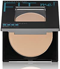 Maybelline New York Fit Me Matte Poreless Powder, 120 Classic Ivory, 8.5g