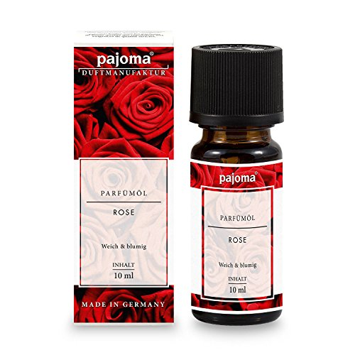 Rose Duftöl (pajoma Parfümöl ''Rose'', 10 ml, feinste Parfümöle in Geschenkverpackung)