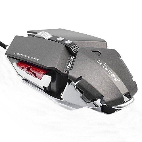emihi G50Spiel Maus 4000dpi Makro Programmierung Professionelle Optische Gaming-Mäuse (Kühler Am Ziel)