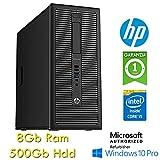 HP EliteDesk 800 G1 CMT Core i5-4570 3.2GHz 8Gb 500Gb Windows 10 Professional TOWER (Ricondizionato)