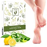 Neomen 2 Pair Foot Peel Mask,Exfoliating Calluses and Dead Skin Remover, Baby Your