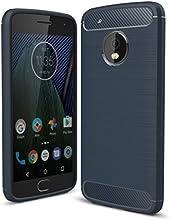 IVSO Moto G5 Funda - Slim Armor Silicio Cover Funda Protectora para Moto G5 Smartphone