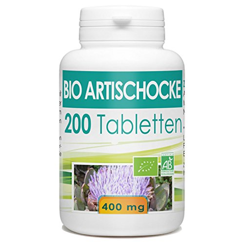Bio Artischocke 400 mg - 200 Tabletten